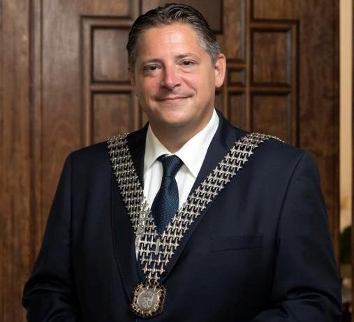 Burgermeester Ralf Krewinkel